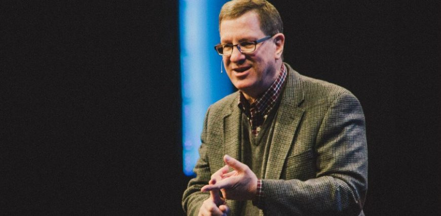 Hanging out with Lee Strobel
