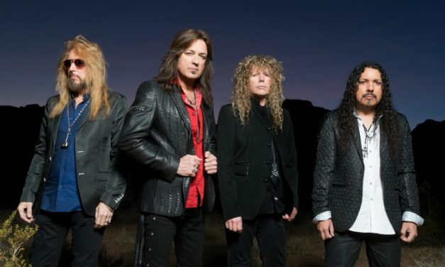 Interviewing Michael Sweet from Stryper!