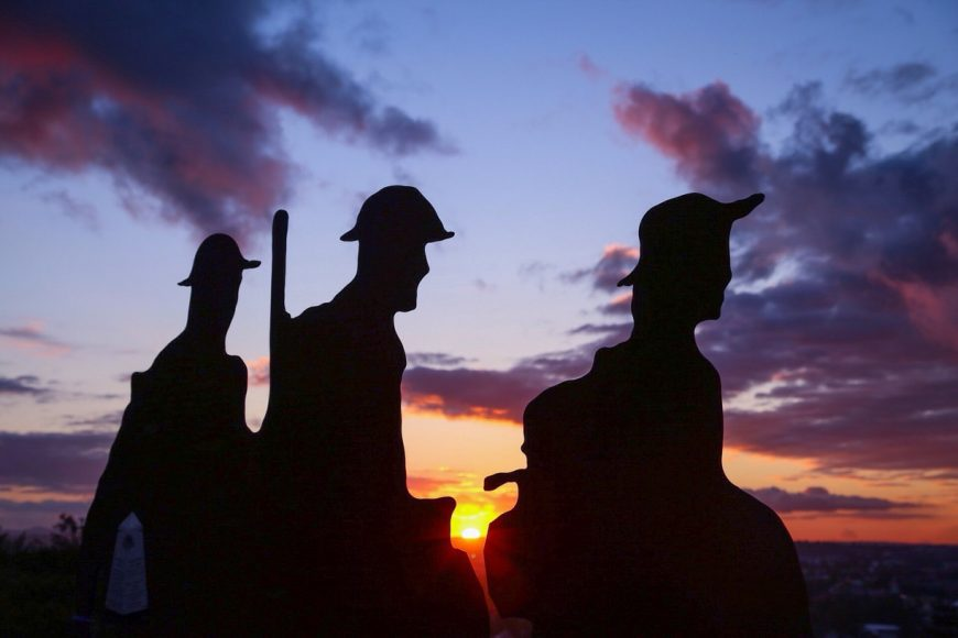 Anzac Day Dawn Services in Newcastle and Hunter Valley 1