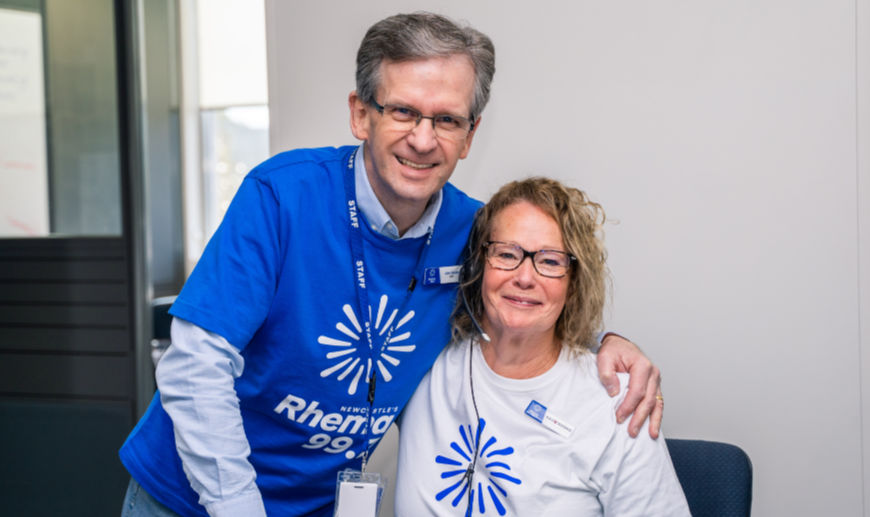 """""""Rhemathon's Finished But You Can Still Help Us Reach Our Target!"""" - John Marks 1"""