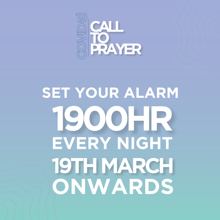 COVID-19: National Call to Prayer at 7pm, Every Night 2