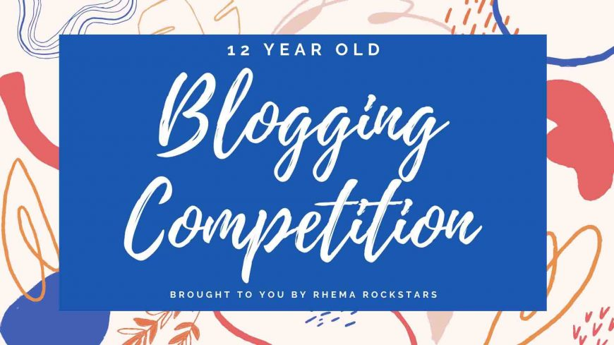 Blogging Competition 1