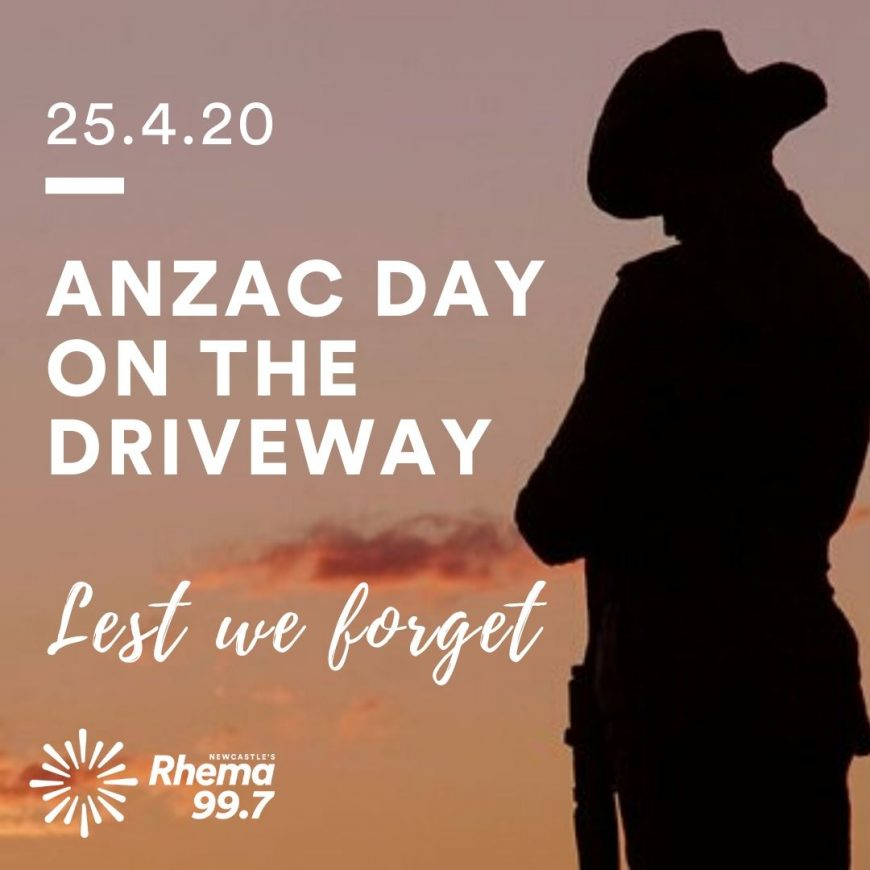 Anzac Day on the Driveway 2