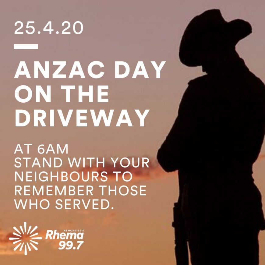 Anzac Day on the Driveway 3