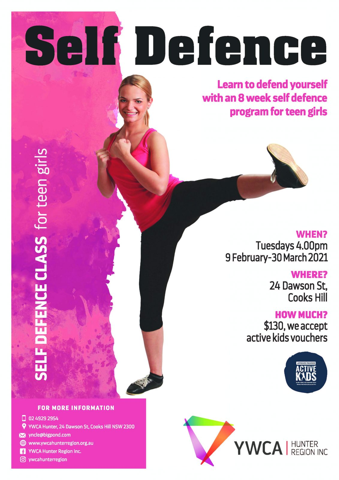 Self Defence for Teen Girls 1