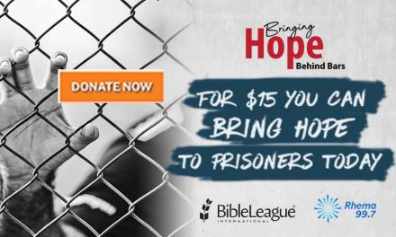 Bringing Hope Behind Bars